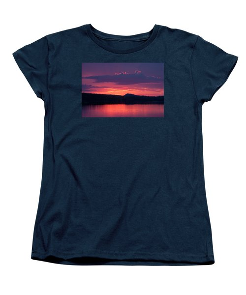 Sunset Over Sabao Women's T-Shirt (Standard Cut) by Brent L Ander