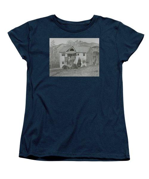 Sunset  Ridge  Women's T-Shirt (Standard Cut)