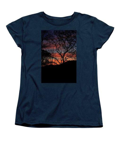 Sunset Women's T-Shirt (Standard Cut) by Tammy Schneider