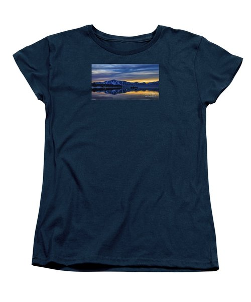 Sunset Timber Cove Women's T-Shirt (Standard Cut) by Mitch Shindelbower