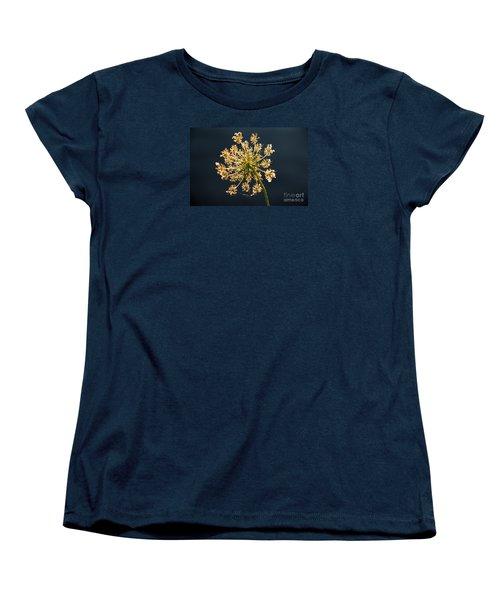 Women's T-Shirt (Standard Cut) featuring the photograph Sunset's Glow by Rebecca Davis