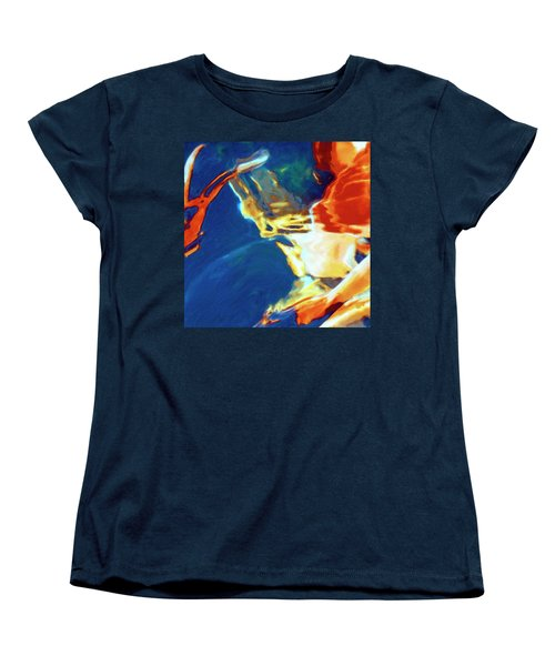 Women's T-Shirt (Standard Cut) featuring the painting Sunspot by Dominic Piperata
