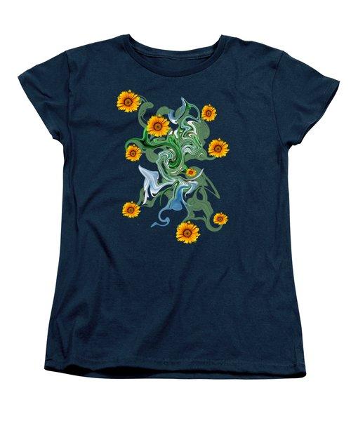 Sunspots Women's T-Shirt (Standard Cut) by David and Lynn Keller