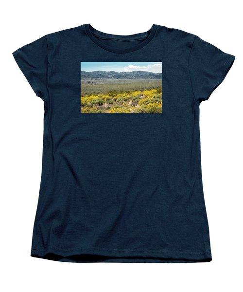 Superbloom Paradise Women's T-Shirt (Standard Cut) by Amyn Nasser
