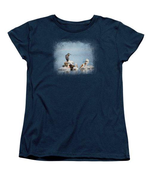 Support Group Women's T-Shirt (Standard Cut) by Jai Johnson