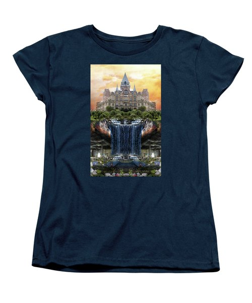 Supported Women's T-Shirt (Standard Cut) by Joan Ladendorf