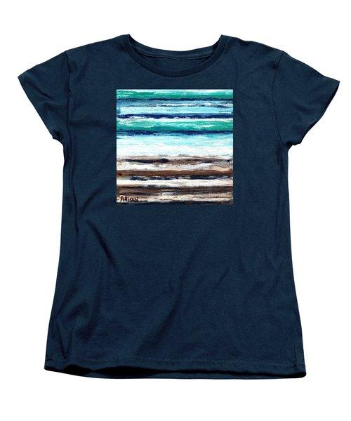 Surf And Turf Women's T-Shirt (Standard Cut)