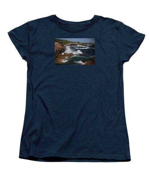 Surf At Biddeford Pool Women's T-Shirt (Standard Cut)