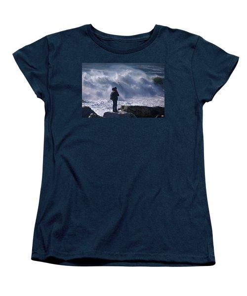 Surf Watcher Women's T-Shirt (Standard Cut)