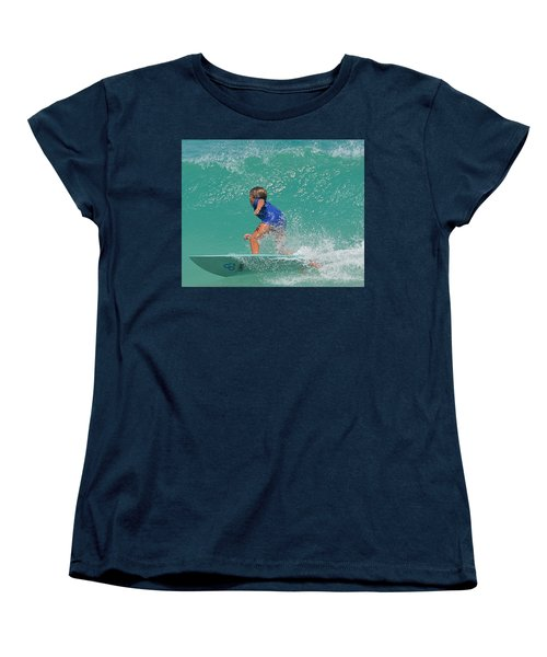 Surfer Boy Women's T-Shirt (Standard Cut) by  Newwwman