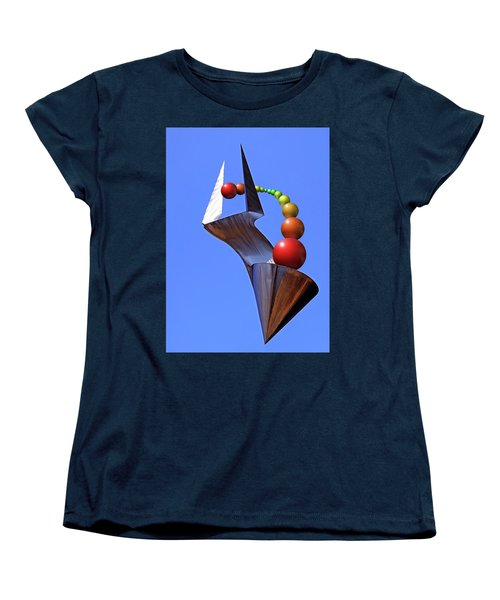Women's T-Shirt (Standard Cut) featuring the photograph Surreal Rainbow by Christopher McKenzie