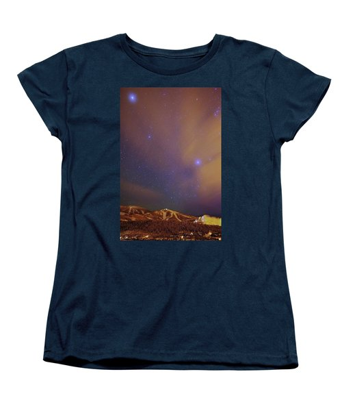 Surreal Ski Area Women's T-Shirt (Standard Cut) by Matt Helm