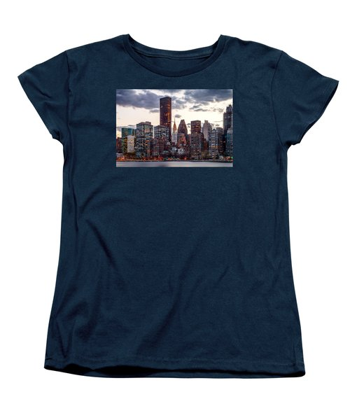 Surrounded By The City Women's T-Shirt (Standard Cut) by Az Jackson