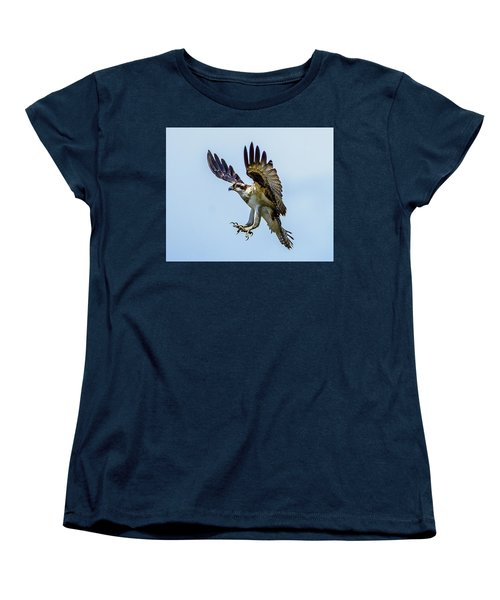 Suspended Osprey Women's T-Shirt (Standard Cut) by Jerry Cahill