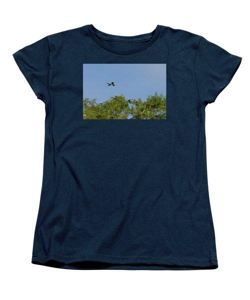 Swallow-tailed Kite Flyover Women's T-Shirt (Standard Cut)