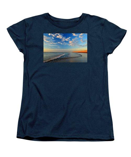 Sweeping Ocean View Women's T-Shirt (Standard Cut) by Dianne Cowen