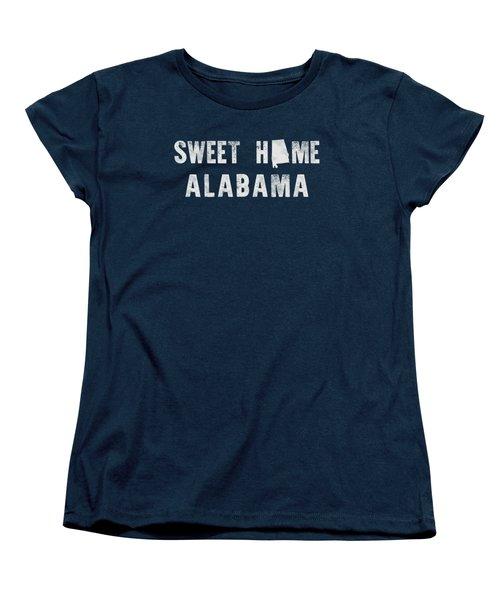 Sweet Home Alabama Women's T-Shirt (Standard Cut) by Nancy Ingersoll