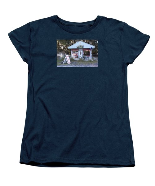 Sweet Teas And Fried Chicken Women's T-Shirt (Standard Cut) by Suzanne Gaff
