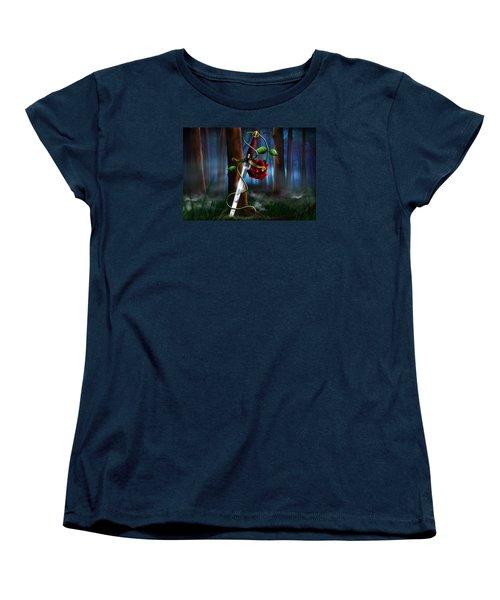 Sword And Rose Women's T-Shirt (Standard Cut)