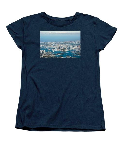 Sydney From The Air Women's T-Shirt (Standard Cut) by Parker Cunningham