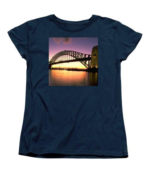 Sydney Harbour Bridge Women's T-Shirt (Standard Cut) by Travel Pics