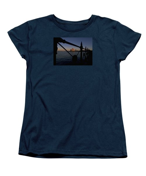 Women's T-Shirt (Standard Cut) featuring the photograph Sydney Opera House by Travel Pics
