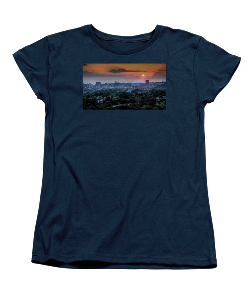 Syracuse Sunrise Women's T-Shirt (Standard Cut) by Everet Regal