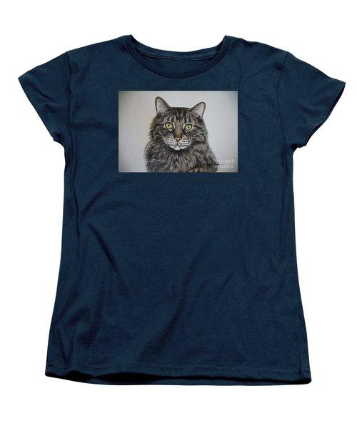 Tabby-lil' Bit Women's T-Shirt (Standard Cut) by Megan Cohen