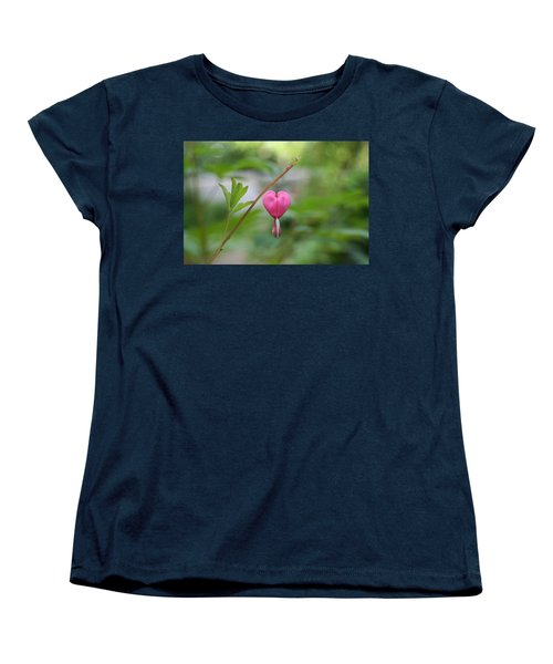 Women's T-Shirt (Standard Cut) featuring the digital art Take My Heart by Barbara S Nickerson