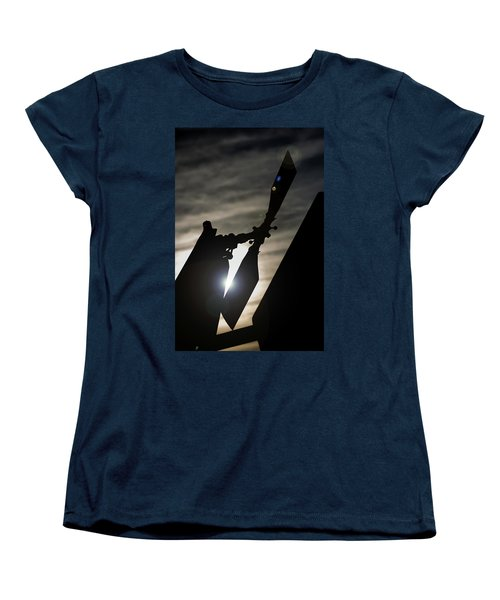 Women's T-Shirt (Standard Cut) featuring the photograph Tale Sun by Paul Job