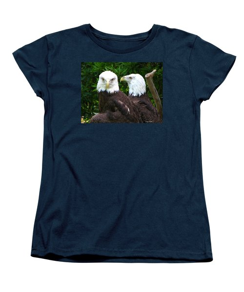 Women's T-Shirt (Standard Cut) featuring the photograph Talking To Me by Greg Patzer
