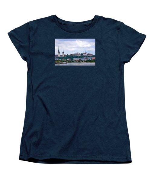 Tallinn Estonia. Women's T-Shirt (Standard Cut) by Terence Davis