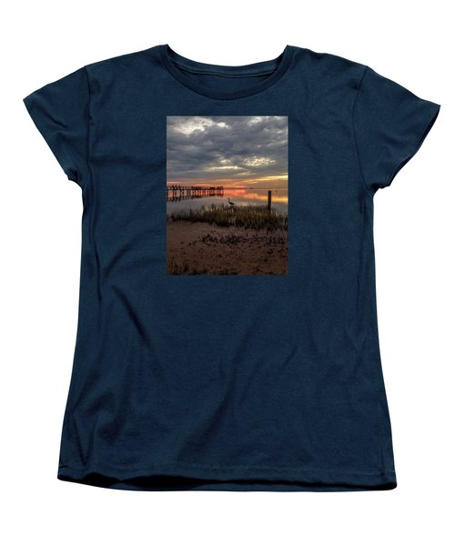 Tampa  Women's T-Shirt (Standard Cut) by Anthony Fields