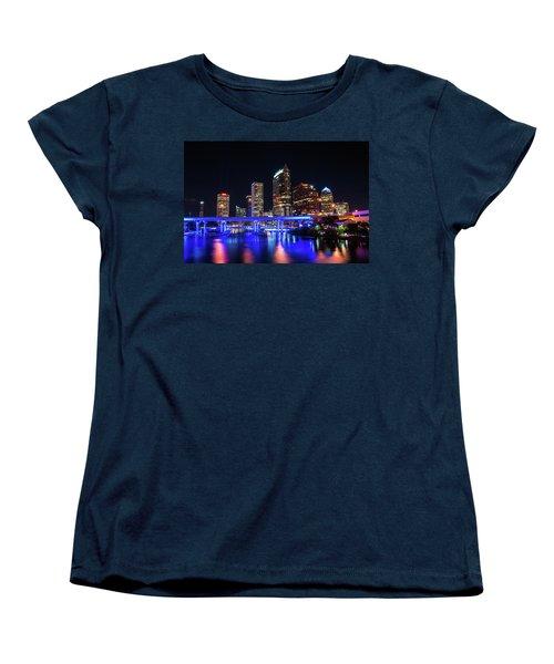 Tampa Skyline Women's T-Shirt (Standard Cut) by Steven M