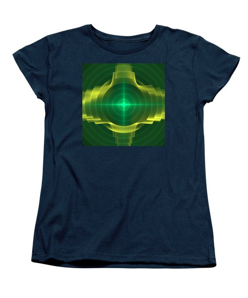 Target Women's T-Shirt (Standard Cut) by Svetlana Nikolova