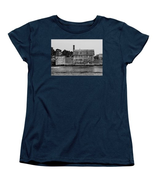 Tarr And Wonson Paint Manufactory In Black And White Women's T-Shirt (Standard Cut) by Brian MacLean