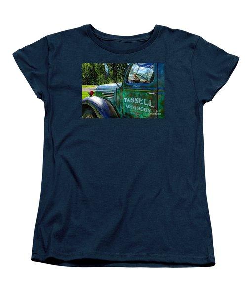 Women's T-Shirt (Standard Cut) featuring the photograph Tassell by Randy Pollard