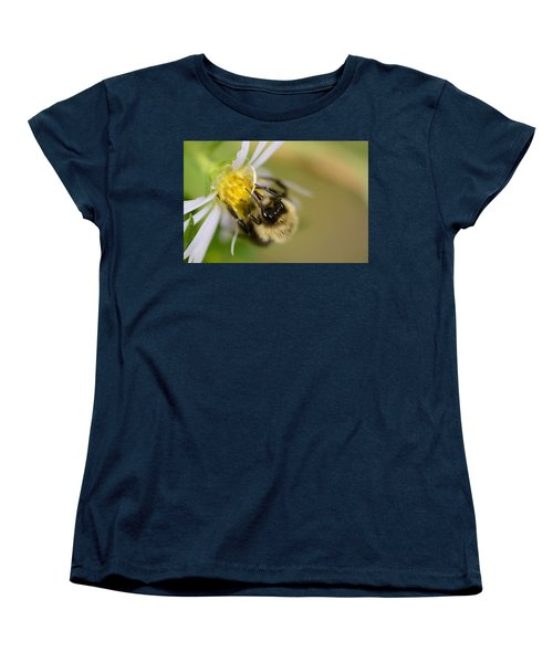 Tasting The Flower Women's T-Shirt (Standard Cut) by Janet Rockburn