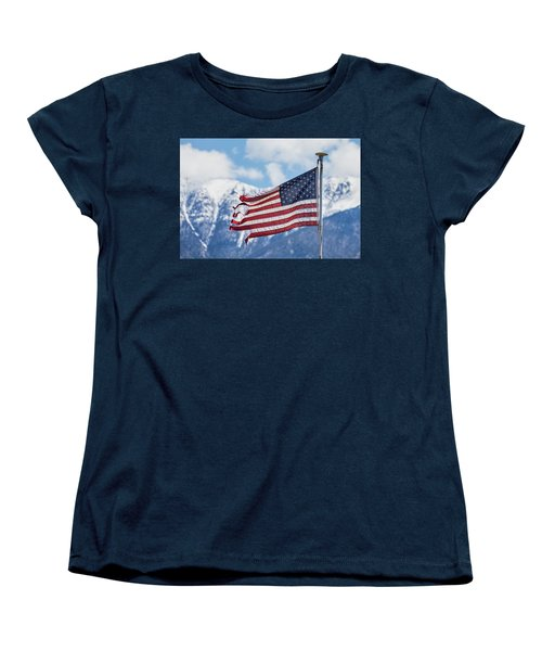 Tattered And Torn Women's T-Shirt (Standard Cut) by James BO Insogna