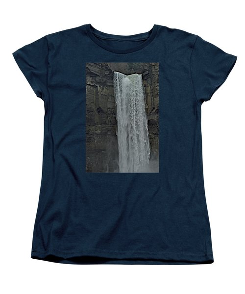 Taughannock Falls State Park Women's T-Shirt (Standard Cut) by Joseph Yarbrough