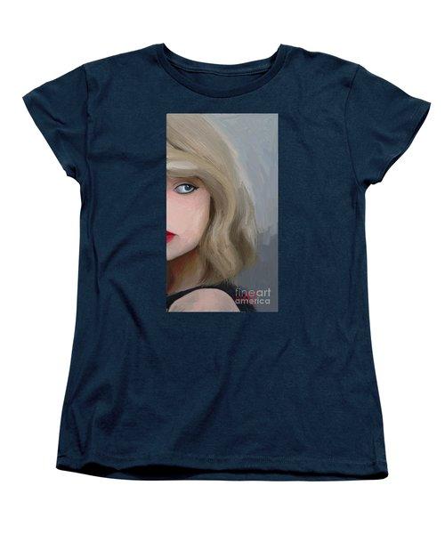 Taylor Swift  Women's T-Shirt (Standard Cut) by Barbara Stanley