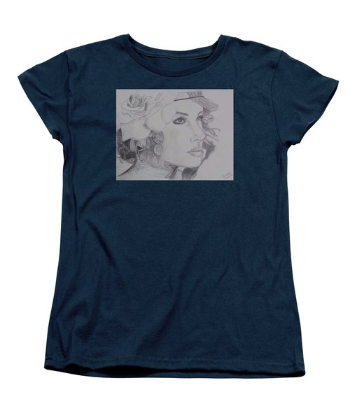 Taylor Swift Women's T-Shirt (Standard Cut) by Tanmaya Chugh