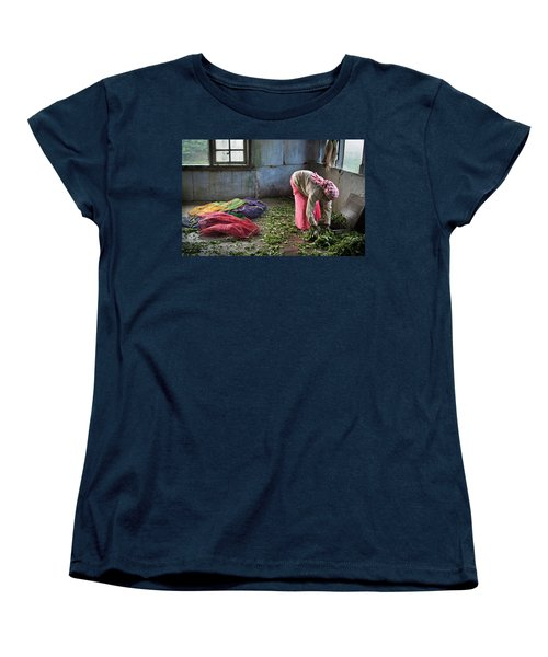 Tea Factory Women's T-Shirt (Standard Cut) by Marion Galt