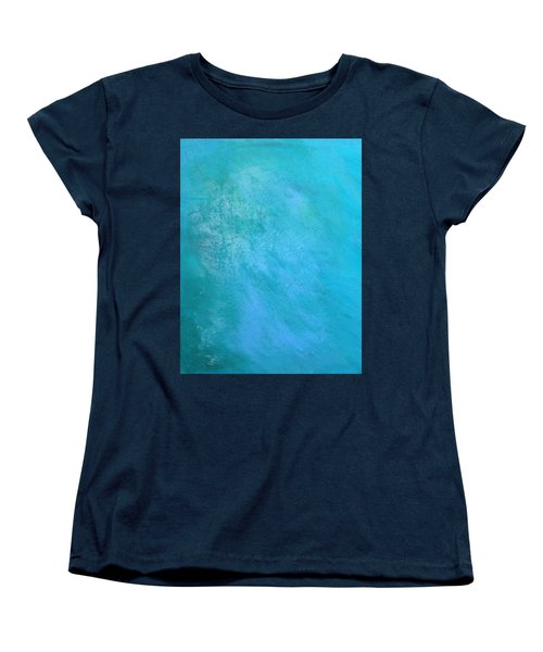 Teal Women's T-Shirt (Standard Cut) by Antonio Romero