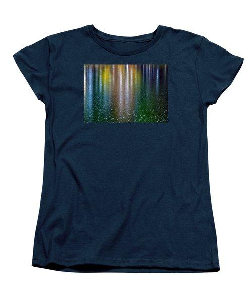 Women's T-Shirt (Standard Cut) featuring the photograph Tears On A Rainbow by John Haldane
