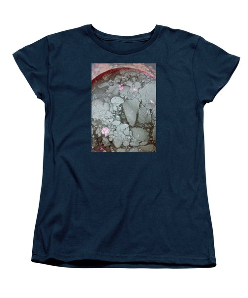Tectonic With Sky Above And Below Women's T-Shirt (Standard Cut) by Cliff Spohn