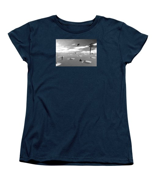 Women's T-Shirt (Standard Cut) featuring the photograph Telephone Line by Christopher Woods