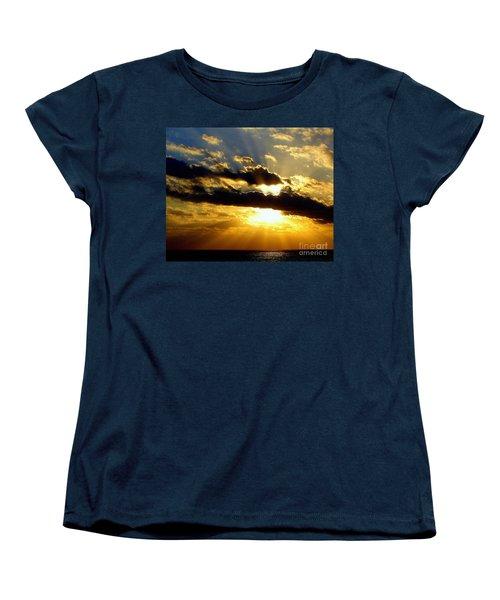 Tempestuous Women's T-Shirt (Standard Cut) by Priscilla Richardson