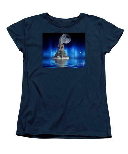 Temple Of The Moon Women's T-Shirt (Standard Cut)