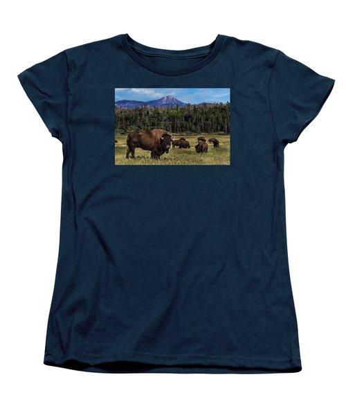 Tending The Herd Women's T-Shirt (Standard Cut)